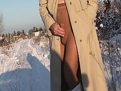 Pantyhose Winter