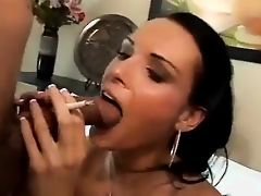 Hot Babe Smoking and Assfucked