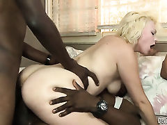Alice Frost is an interracial sex addict