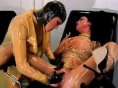 Oily Latex and toy games.