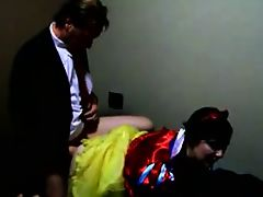 Snow White gets taken from behind