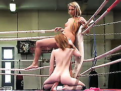 Brunette Judy Smile and lesbian Joanna Sweet have wild