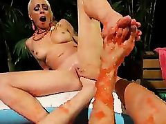 Lorelei Lee_ Casey Calvert and Rilynn Rae [FootWorship.com _ Kink.com]