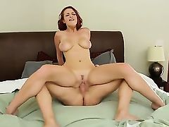 Jessica Robbin is a redhead babe with natural tits. She craves big cock and has