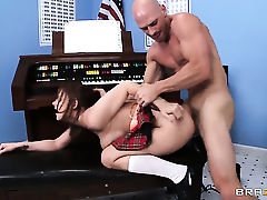 Johnny Sins uses his rock solid love stick to
