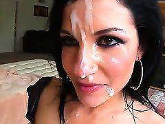 Nice and seducing P.O.V. where Tori Lux wants to eat, and what can be better than a hard