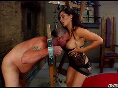 Hot bodied Jay Ashley loves to dominate! Naked man in
