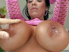 Sienna West is a gorgeous dark haired sexy milf with