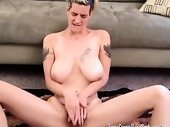 Her Toy Feels So Good inside Her Hairy Pussy