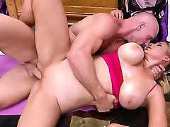 Athena Pleasures is one busty babe who loves to have hardcore sex and Johnny Sins can give