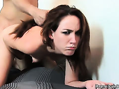 Steph spends her sexual energy in steamy interracial action