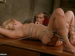 Salome is a sexy bodied blonde babe who is naked