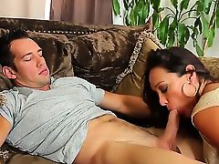 Michelle Lay makes Johnny Castles sexual fantasies come true
