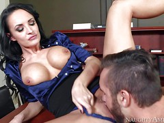 One of a kind milf Alektra Blue with big round