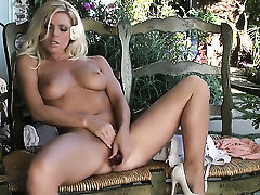 Niki Young with massive jugs and clean cunt