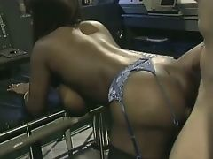 Vintage Dominique Simone Interracial scene... fucking hot