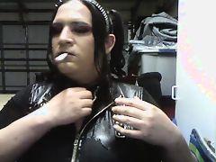 gothic tranny tits