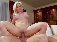 Diamond Foxxx is a perfect bodied blonde MILF with sexy