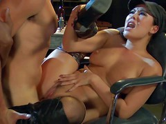 London Keyes and Ana Foxxx are horny as hell female