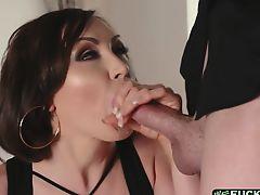 Busty MILF Yasmin Scott fucked by her handsome nephew