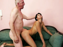 Teen Coco de Mal spends time rubbing her love hole