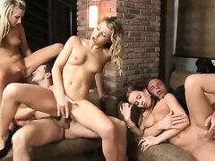 George Uhl stretches sex hungry Cindy Dollars ass way with his rock hard