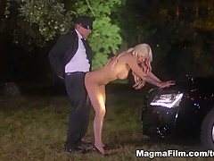 Fabulous pornstar Julie Hunter in Horny Medium Tits, Outdoor xxx clip