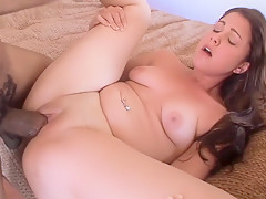 Best pornstar Carmella Diamond in incredible cumshots, interracial porn movie