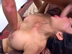 Tara Holiday is a big titted ho step-mom on fire. Passionate big titted woman with juicy plump ass