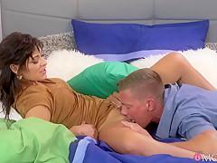 Exotic pornstars Ricky, Tera Joy in Incredible Latina, Creampie adult clip