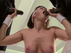 Big racked cougar Alexandra Silk with hairy twat and fuckable
