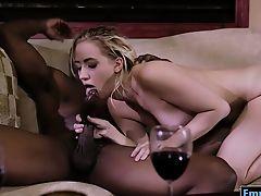 Sierra Nicole screwed by big black boner in many poses