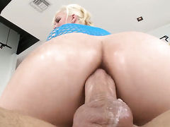 Mike Adriano loves seductive Jenna Ivorys amazing body and bangs her mouth as hard as possible before anal fun