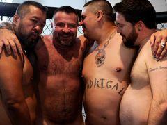 Marc Angelo's Gangbang Fantasy - BearFilms