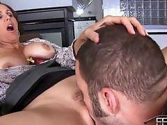 Milf mistress julia ann get's her pussy lickes