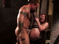 Claire Robbins makes mans anal fantasies come true