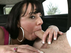 Brunette Kendra Star with big booty wants this blowjob
