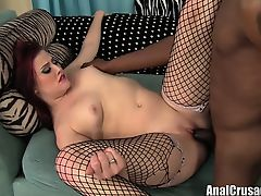 Lovely Redhead gets fucked with a BBC