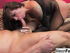 Mason Moore gets her pussy and ass pounded in this Puba