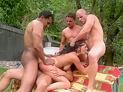 Exotic pornstar in hottest anal, outdoor xxx movie