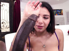 Valentina Nappi loses control in anal frenzy
