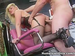 Fabulous pornstar Tristyn Kennedy in Amazing Blonde, Facial adult movie