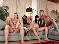 Kari cant wait to be fucked in her mouth by hard dicked guy
