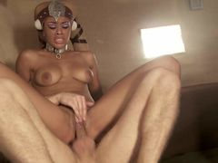 Gia Dimarco and Rihanna Rimes get fucked in front of