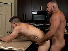 Men Over 30 Dirty Alessio Romero In The Kitch