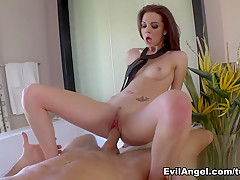Exotic pornstars Rocco Siffredi, Kiera Winters in Amazing Italian, Pornstars adult movie