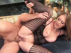 Amazing slut Sandra Romain fucking like a first rate anal whore