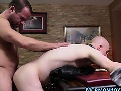 Tied missionary assfucked