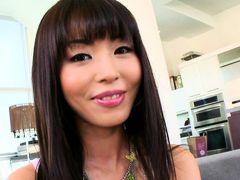 Tiny Asian girl doesn't speak English but...