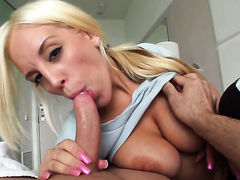 Blondie Feser having sensual backdoor sex